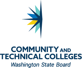Washington State Board for Community and Technical Colleges color vertical logo