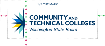 State Board logo 1/4 spacing around
