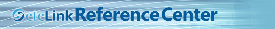 ctcLink Reference Center