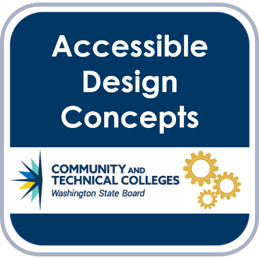 Accessibility Badge: Design Concepts