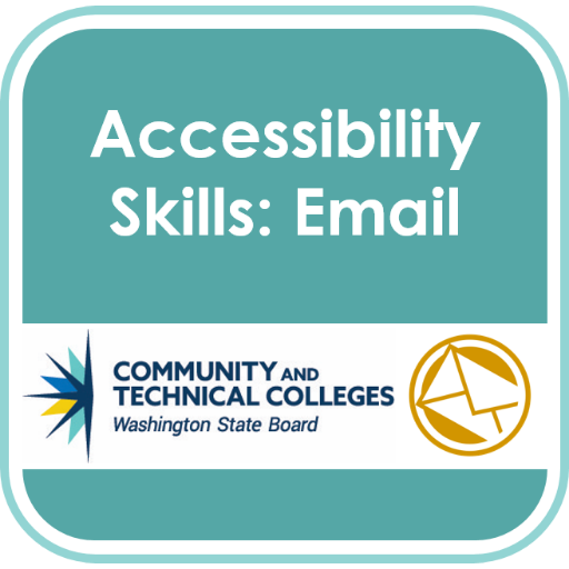 Accessibility Badge: Email
